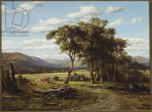At Lilydale, 1870 (oil on canvas)