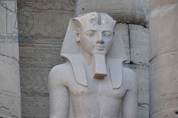 Colossal statue of Ramesses II (1298-32 BC) (photo)