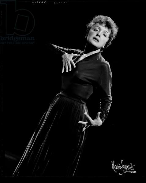 Edith Piaf  1955 on American tour