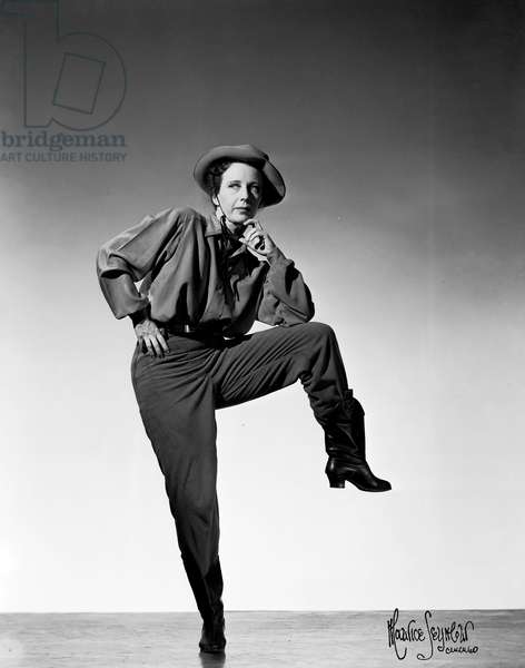Agnes de Mille in Rodeo by Copland