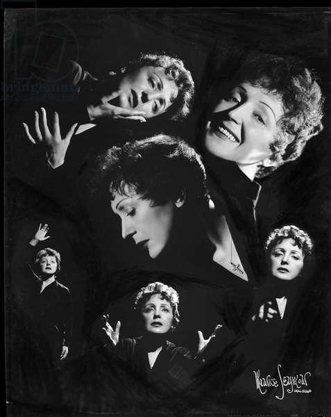Edith Piaf montage