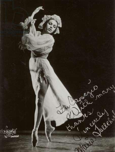 Maria Tallchief  en