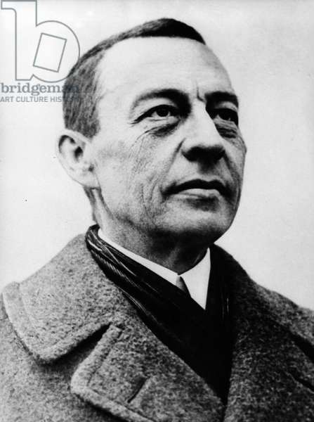Sergei Rachmaninoff, c.1930 (b/w photo)