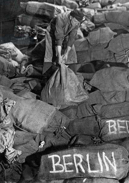 Berlin Blockade, January 1949 (b/w photo)