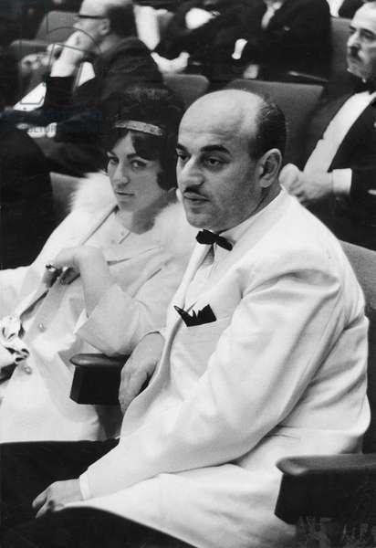 Artur Brauner, 1959 (b/w photo)