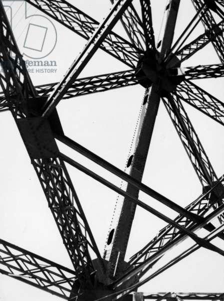 The Eiffel Tower, 1960 (b/w photo)