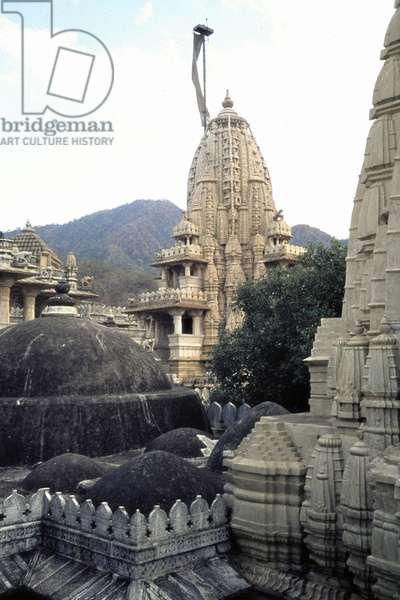 Jain temple in Ranakpur, 1976