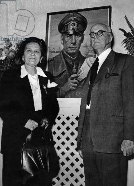 Lucie Maria Rommel, 1953 (b/w photo)