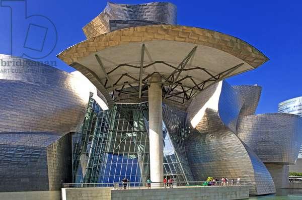The Guggenheim Museum in Bilbao, Spain, 2013 (photo)
