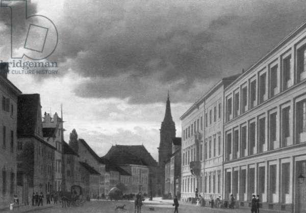 Klosterstraße in Berlin, 1830