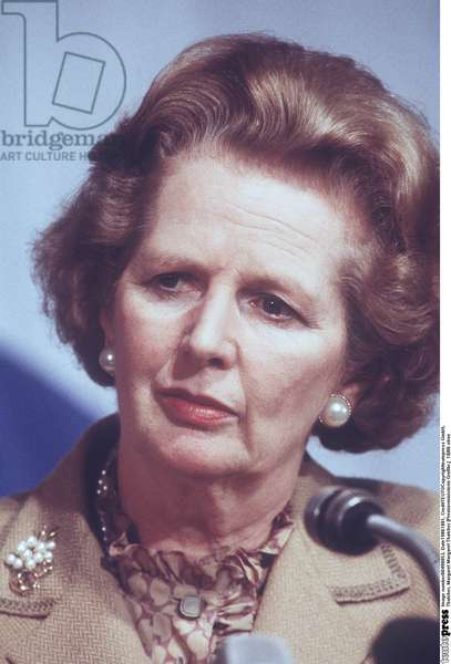 Margaret Thatcher, 1986 (photo)