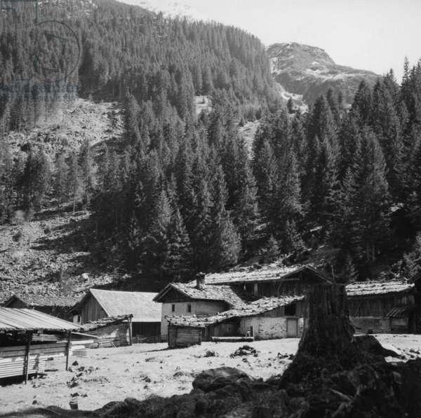 Stubai Alps, 1957 (b/w photo)