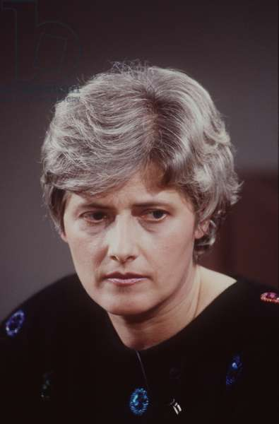 Petra Kelly, founding member of the German Green Party in 1979, 1991 (photo)