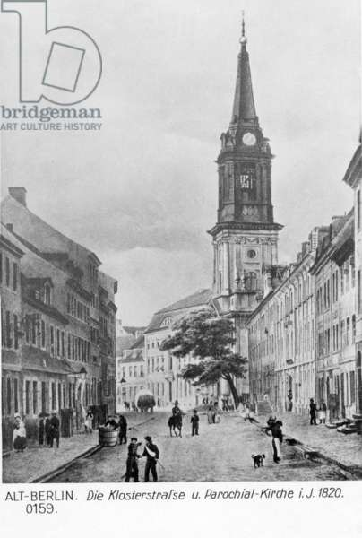 Parochial Church in Berlin, 1828