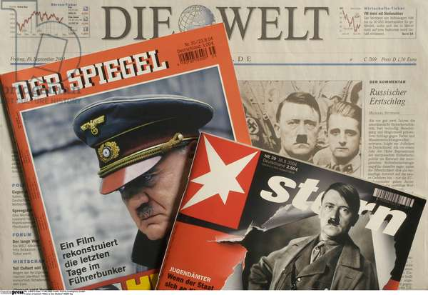 'Der Spiegel' and 'Stern' world editions of August and September 2004 (photo)