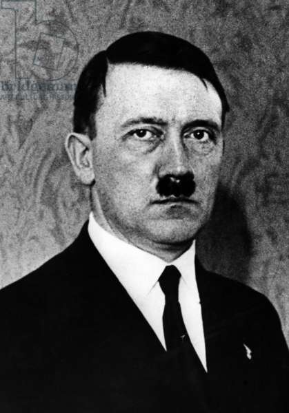 Adolf Hitler, 1933 (b/w photo)