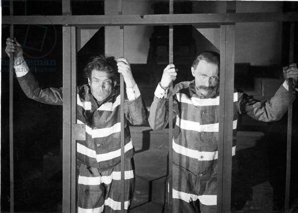 Premiere 'Sacco and Vanzetti' in 1929 (b/w photo)