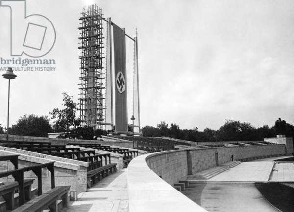 Luitpold Arena, 1936 (b/w photo)