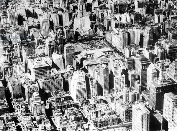 New York, 1925 (b/w photo)