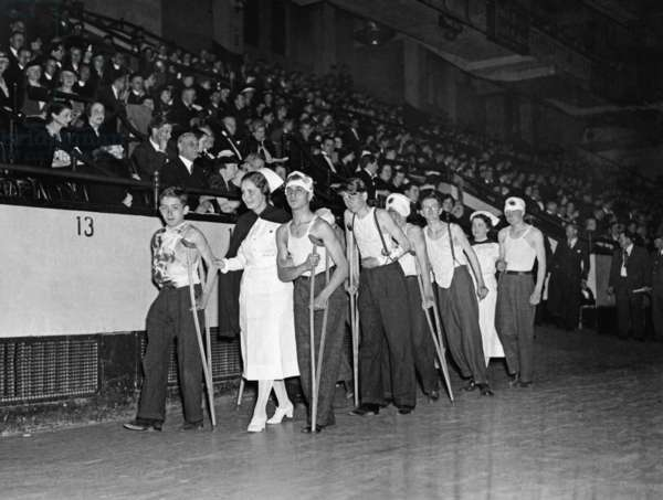 Charity event for victims of the Spanish Civil War in New York, 1937