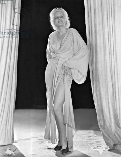 Jean Harlow (b/w photo)