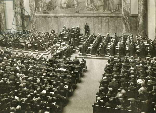 Scheidemann against the Versailles Treaty, 1919