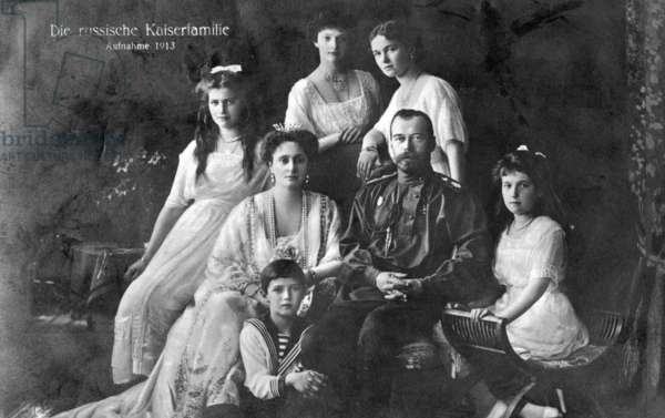 Family photo of the Romanovs, 1913