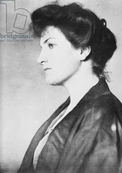 Alma Mahler-Werfel, early 20th century