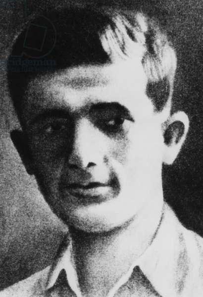 Mordechai Anielewicz (b/w photo)