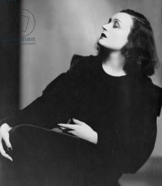 Pola Negri in 'Mazurka', 1935 (b/w photo)