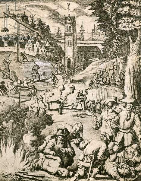 War atrocities during the Thirty Years' War, 1618-1648