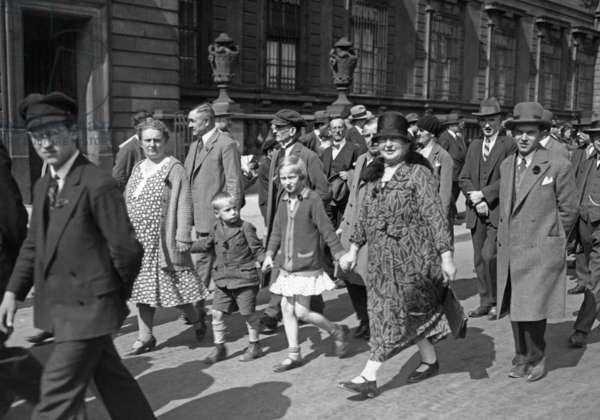 May Day rally, 1930