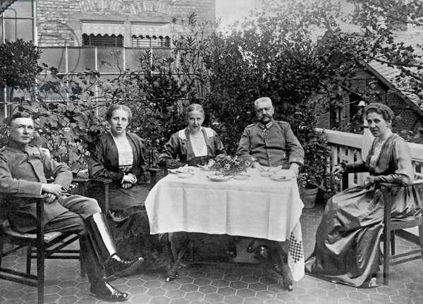 Paul von Hindenburg, 1917 (b/w photo)