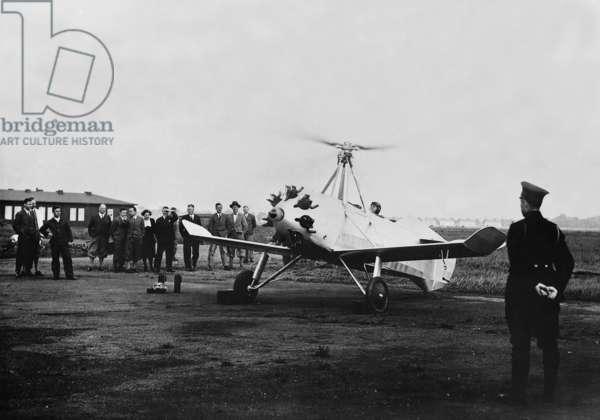 Autogiro von Focke-Wulf, 1931 (b/w photo)