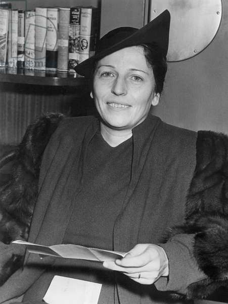 Pearl S. Buck, 1938 (b/w photo)