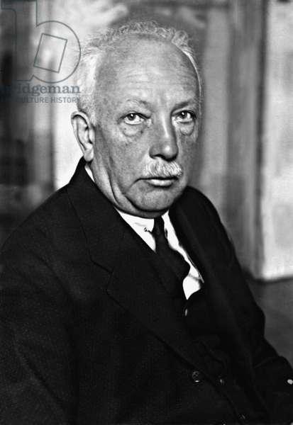 Richard Strauss (1864-1949), 1926, (b/w photo)