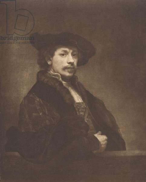 Self-Portrait of Rembrandt van Rijn (photo)