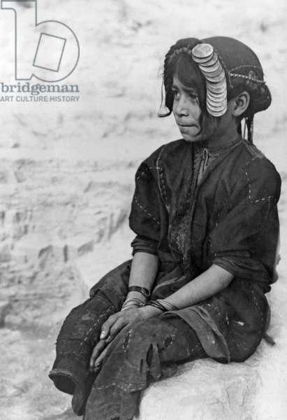 Girl in Palestine, 1936