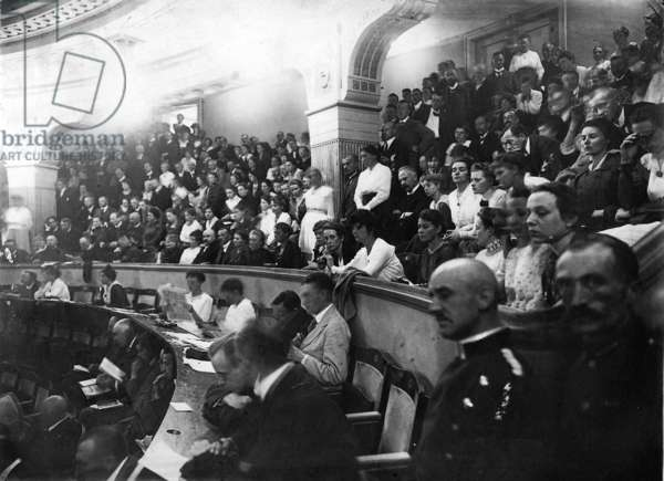 National Assembly at Weimar, 1919 (b/w photo)