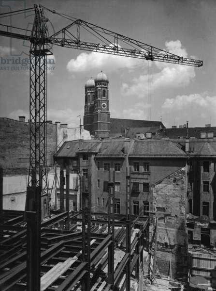 Sueddeutscher Verlag: Construction work, 1926 - 28
