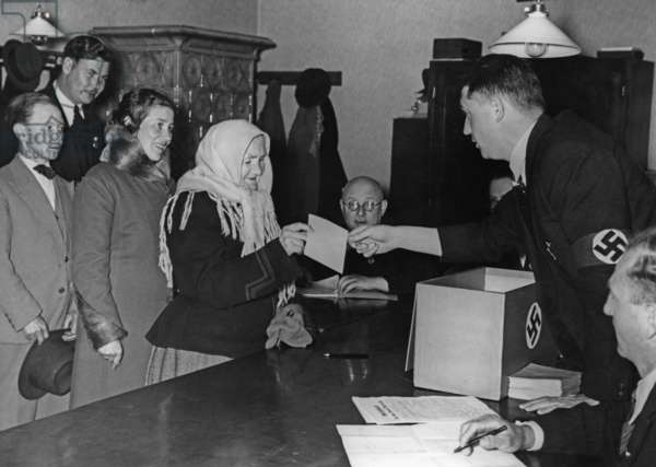 Referendum in Spitz an der Donau, 1938