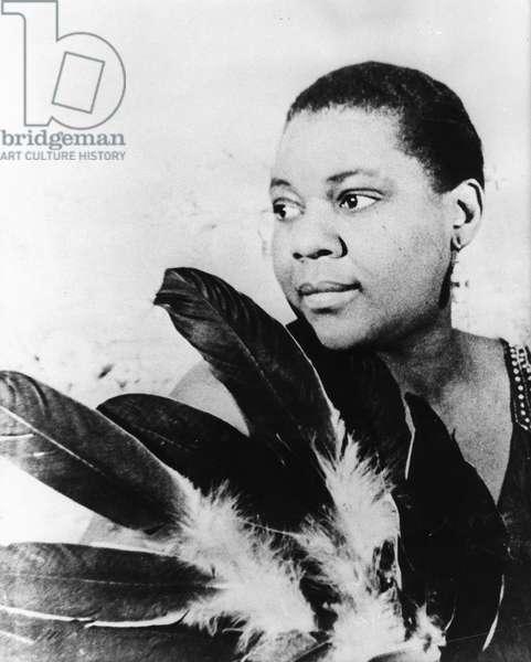 Portrait of Bessie Smith (b/w photo)