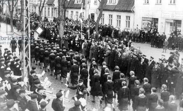 Memel German rally, 1939 (b/w photo)