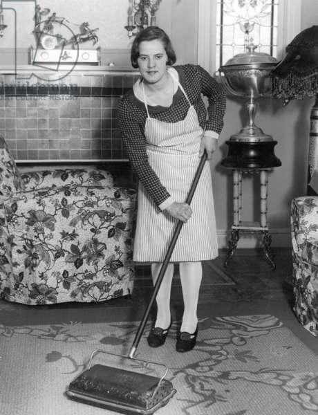 Gertrude Ederle, 1927 (b/w photo)