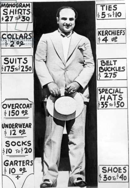 Al Capone, 1931 (b/w photo)