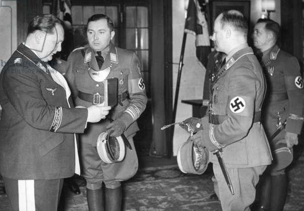 45th birthday of Hermann Goering, 1938