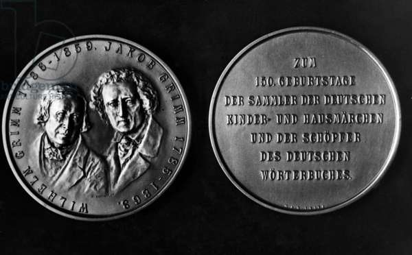 Commemorative coin Jacob and Wilhelm Grimm