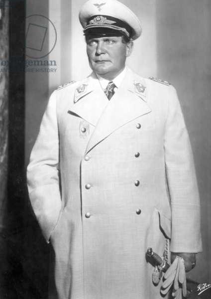 Portrait of Hermann Göring, 1930s (b/w photo)