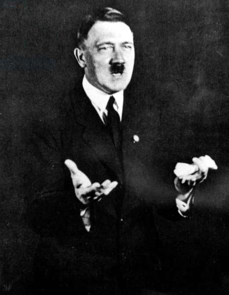 Hitler as a speaker