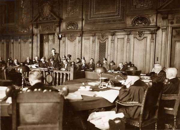 Reichstag Fire Trial 1933 (b/w photo)